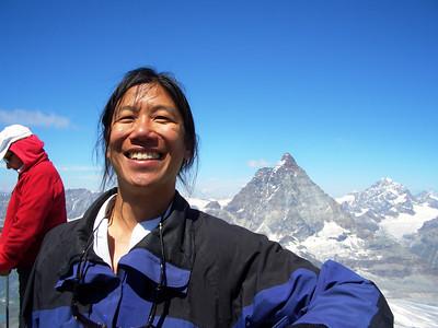 Dave on the Klein Matterhorn