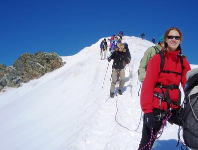 Breithorn climb