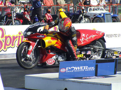 Pro Stock Motorcycle