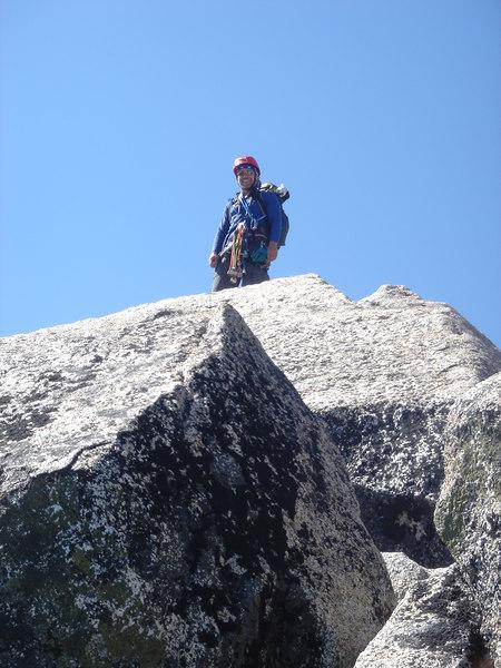 68 Chris, Mt Stuart summit