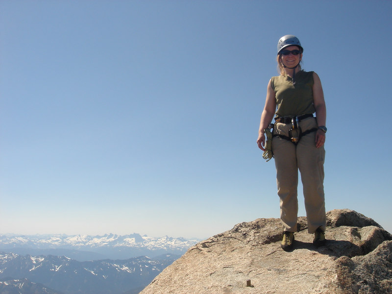 63 Vicky, Mt Stuart Summit