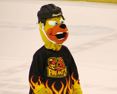 Quite possibly the most hilarious mascot ever created in the history of sports.