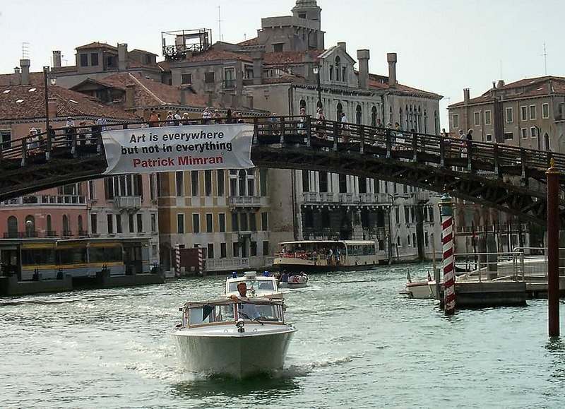 Ponte dell'Accademia - Next to the famous Galleria dell'Accademia