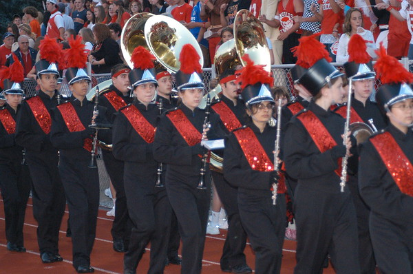 Band and Color Guard 2006