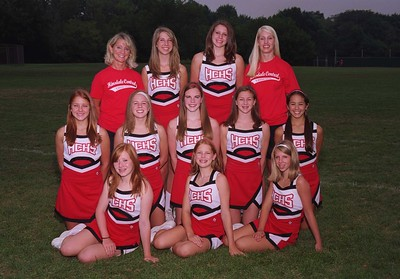 Frosh Cheerleaders 2006