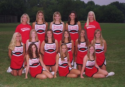 Soph Cheerleaders 2006