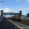 Rare Passenger loco 080 passes Monasterevan with the 0820 Westport - Connolly Special. Sun 17.09.06