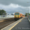 Caught on the hop part 1 - 213 passes through Monasterevan with the 1000 Heuston - Cork. Sun 17.09.06