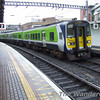 An empty 6 car 2800 passes Tara St bound for Connolly to form the 1335 Connolly - Rosslare Europort. Tues 21.11.06