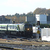Whats this coming around the back of Heuston Carriage shed? Tues 21.11.06
