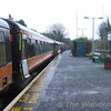 After arrival at Manulla most of the passengers elected to stay in the cravens until the Dublin train arrived. Sun 19.11.06