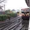 074 runs around the train, a sight soon to be very rare except on Fridays. Sun 19.11.06