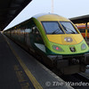 Mk4 set 4002 is seen in Heuston. This set worked the 1200 to Cork. Sun 19.11.06
