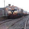 The old order in Ballina: 087 stands after arrival with the 1212 ex Manulla Jct. Sun 19.11.06