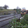 087 waits to depart with the 1420 to Manulla Jct. Sun 19.11.06