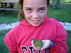 Rowan the frog catcher. This is what she likes to do when we visit G and G (Grandma and Grampy)