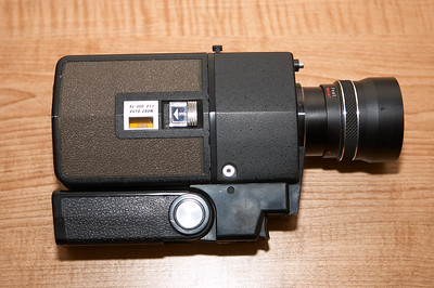 Hanimex XL-300 Super-8 silent film camera