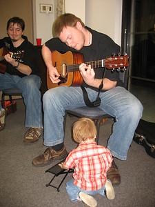 Matt solos for his son