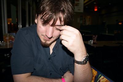 Dan gets pensive