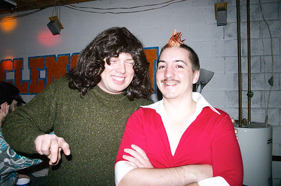Scotty and Dan at the party