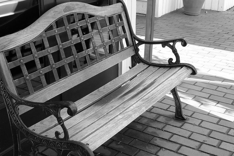 I have always loved benches