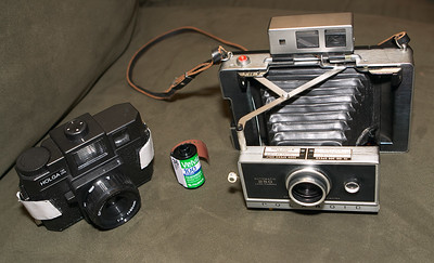 Size comparison, with 35mm film included for scale