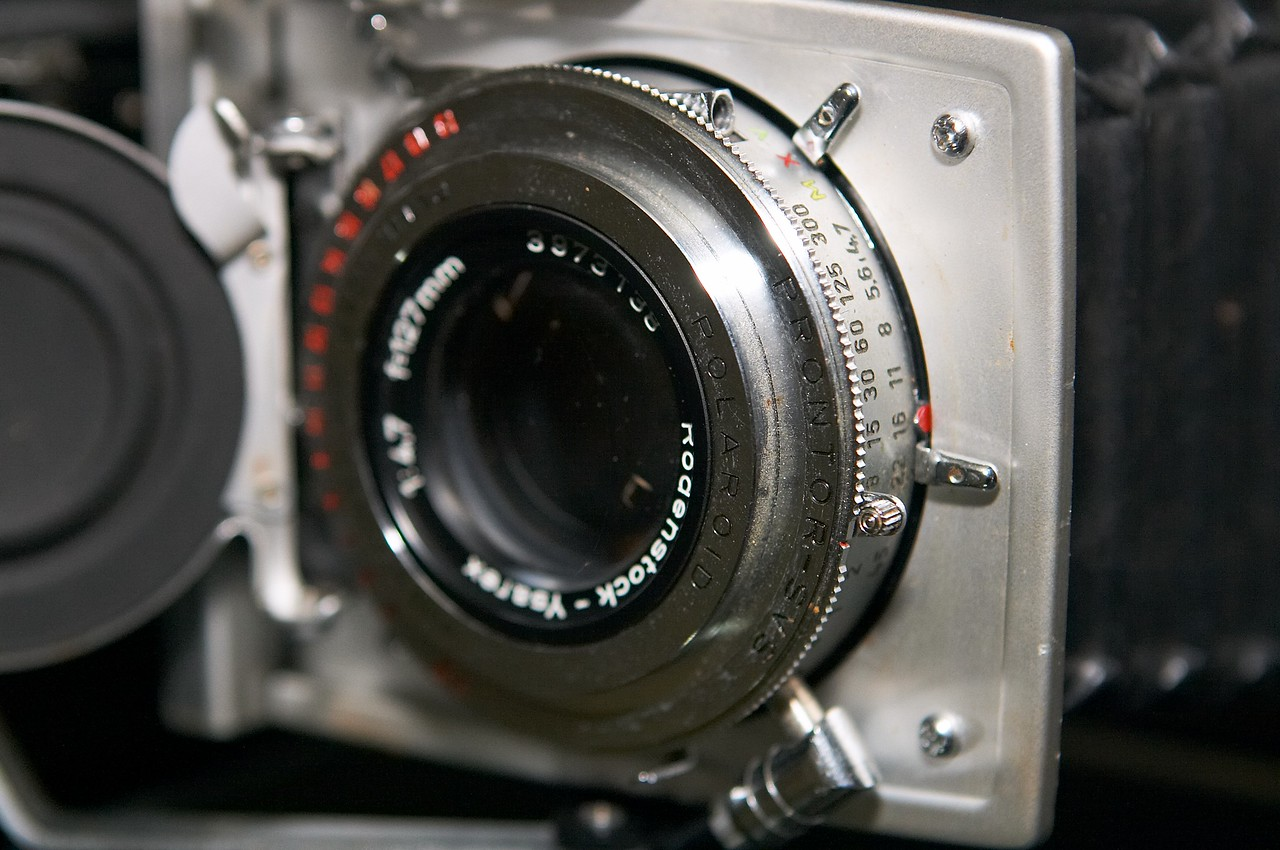 Alas, this camera will only be donating its lens and shutter