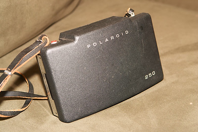 The first piece of the puzzle - a Polaroid 250 Automatic Land camera, $0.99 on eBay