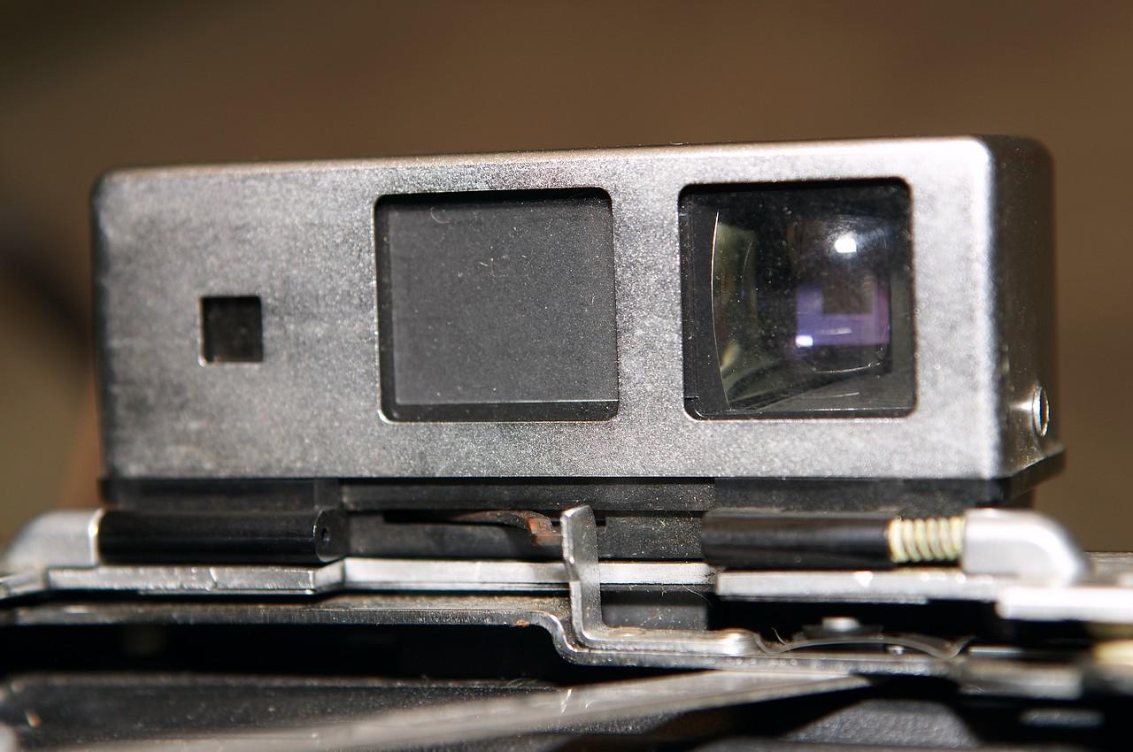 Closeup of Zeiss rangefinder