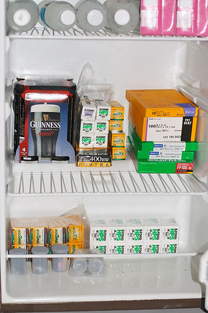 A well-stocked fridge