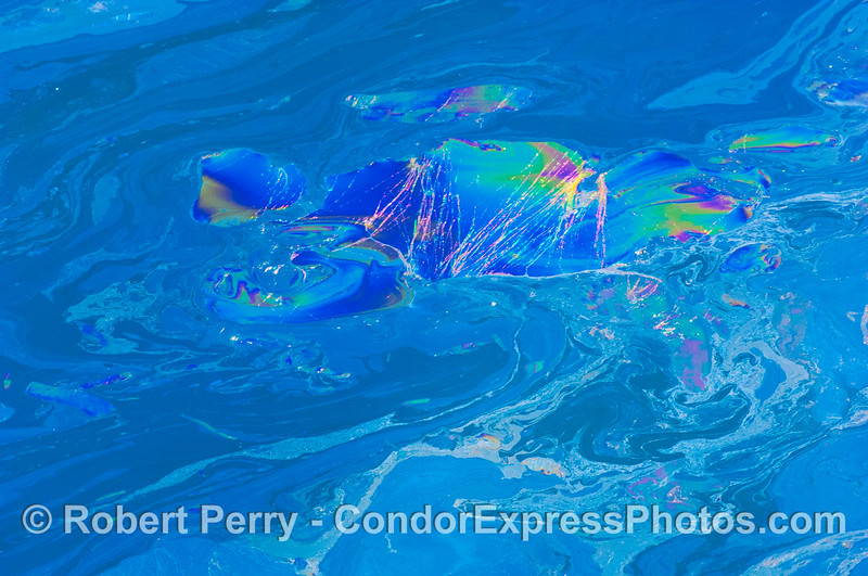 Abstract ocean surface patterns