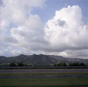 Mountains of green velvet