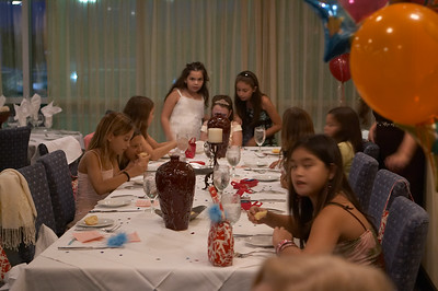 Natalia celebrates her 10th birthday with an elegant dinner at the Caparra Country Club