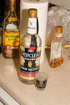 The Everclear was the second, more resoundingly bad decision