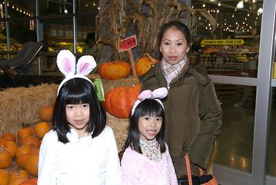 Bunnies and pumpkins