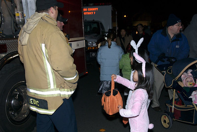 Erica goes trunk or treat