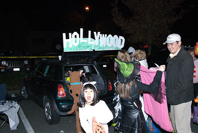 Trunk or treat in Hollywood