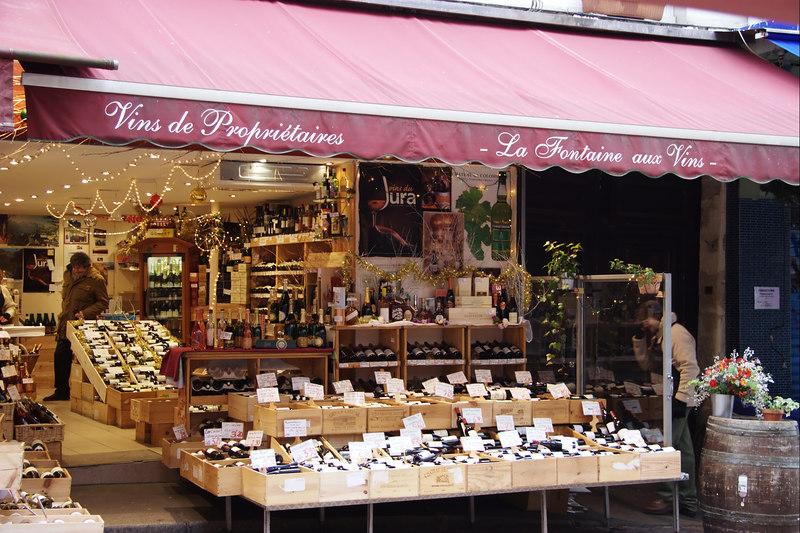 Wine, wine, everywhere ...