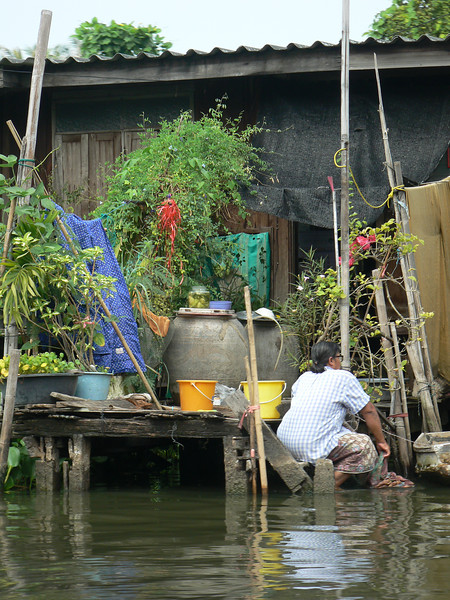 Living on the river in Bangkok