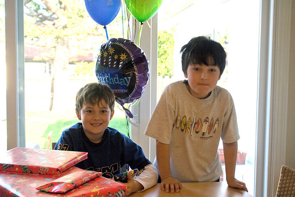 Adam's Ninth Birthday