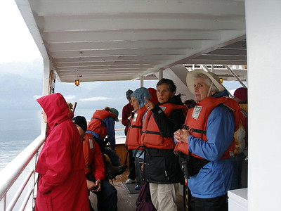 Princeton group aboard the Sea Bird - Lydia Osborne