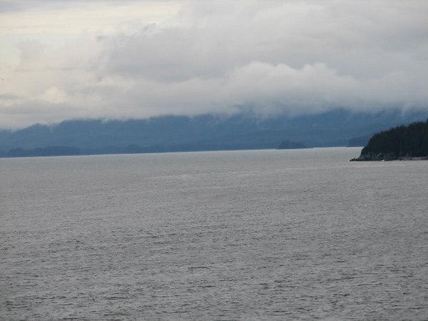 still floating to Alaska