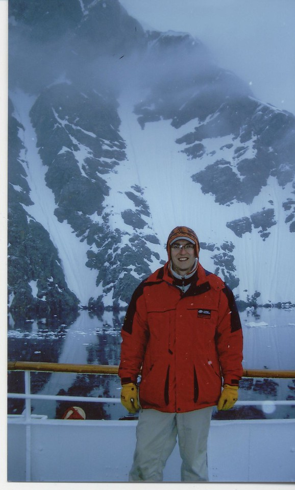 Andrew & Iceberg - Caroline Moseley