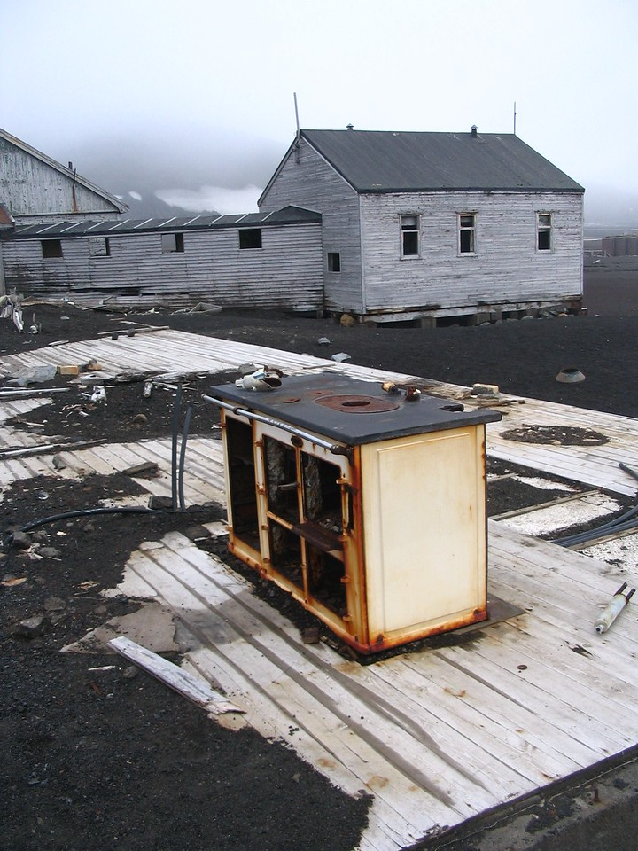 Aga on Deception Island - Andrew Gossen