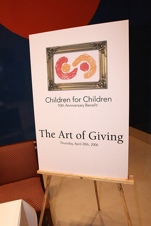 "<a href=""http://www.childrenforchildren.org/about_benefit.asp"">Children For Children(""CFC"") Tenth Anniversary Benefit, ""The Art of Giving...Celebrating 10 Years of Helping Kids Grow Involved""</a>"