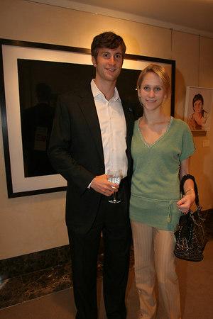 """<a href=""""http://en.wikipedia.org/wiki/Justin_Rockefeller"""">Justin Rockefeller</a> & Indre Vengris"""