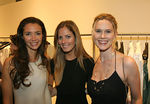 Olivia Chantecaille, Ferebee Bishop & Stephanie March at Calvin Klein Collection on Madison Avenue for a Cocktail Kick-Off for SAFE HORIZON's 11th Annual Champion Awards Luncheon honoring Heroes Championing Children