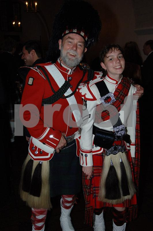 Tom & Karen Jones Dressed to KILT