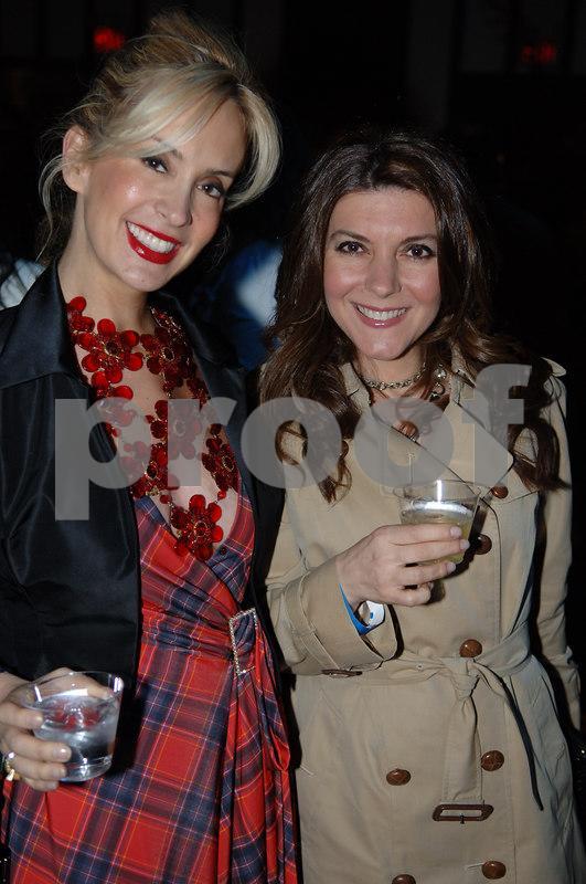 """<a href=""""http://www.tracystern.com/"""">Tracy Stern</a> & Elena Stephanopoulos"""