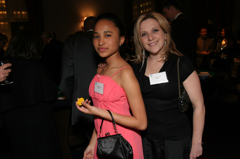Kendra Cabrera (Mentee) with Linda Kondilis (Mentor)